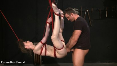 Photo number 9 from True Submission shot for Brutal Sessions on Kink.com. Featuring TJ Cummings and Kristine in hardcore BDSM & Fetish porn.