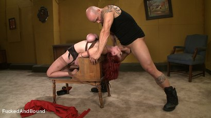 Photo number 11 from Challenging Berlin shot for Fucked and Bound on Kink.com. Featuring Mz Berlin and Derrick Pierce in hardcore BDSM & Fetish porn.
