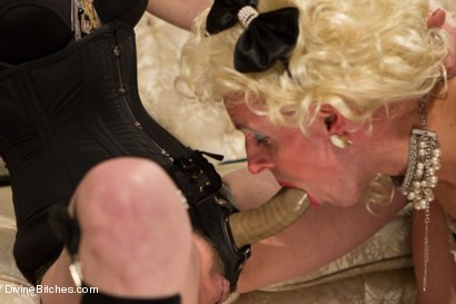 Photo number 7 from Sissification and Humiliation shot for Divine Bitches on Kink.com. Featuring Sean Spurt and Maitresse Madeline Marlowe in hardcore BDSM & Fetish porn.