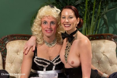 Photo number 9 from Sissification and Humiliation shot for Divine Bitches on Kink.com. Featuring Sean Spurt and Maitresse Madeline Marlowe in hardcore BDSM & Fetish porn.