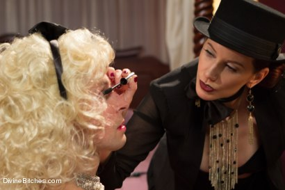 Photo number 1 from Sissification and Humiliation shot for Divine Bitches on Kink.com. Featuring Sean Spurt and Maitresse Madeline Marlowe in hardcore BDSM & Fetish porn.