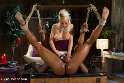 Photo number 6 from A Chastity Punishment For The Fuck Slave shot for Divine Bitches on Kink.com. Featuring Robert Axel and Lorelei Lee in hardcore BDSM & Fetish porn.