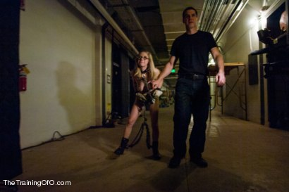 Photo number 1 from The Training of an Anal Slut, Day Two shot for The Training Of O on Kink.com. Featuring Penny Pax and Owen Gray in hardcore BDSM & Fetish porn.