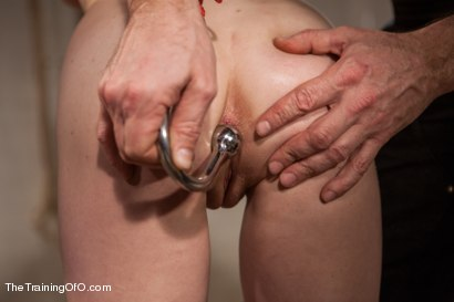 Photo number 2 from The Training of and Anal Slut, Day Three shot for The Training Of O on Kink.com. Featuring Penny Pax and Owen Gray in hardcore BDSM & Fetish porn.