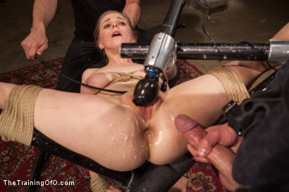 Photo number 14 from The Training of an Anal Slut, Final Day shot for The Training Of O on Kink.com. Featuring Penny Pax and Rob Blu in hardcore BDSM & Fetish porn.