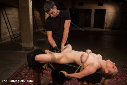 Photo number 6 from The Training of an Anal Slut, Final Day shot for The Training Of O on Kink.com. Featuring Penny Pax and Rob Blu in hardcore BDSM & Fetish porn.