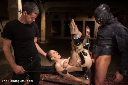 Photo number 13 from The Training of an Anal Slut, Final Day shot for The Training Of O on Kink.com. Featuring Penny Pax and Rob Blu in hardcore BDSM & Fetish porn.