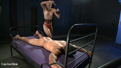 Photo number 1 from Ass Up! shot for Captive Male on Kink.com. Featuring Lobo and Amber Rayne in hardcore BDSM & Fetish porn.
