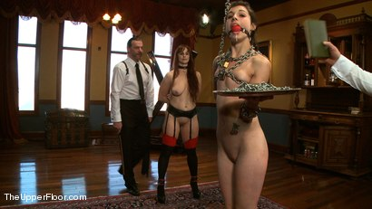 Photo number 7 from On Matters of Deportment shot for The Upper Floor on Kink.com. Featuring Bella Rossi and Kristine Kahill in hardcore BDSM & Fetish porn.