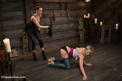 Photo number 9 from New Submissive Slut: Dahlia Sky shot for Whipped Ass on Kink.com. Featuring Maitresse Madeline Marlowe  and Dahlia Sky in hardcore BDSM & Fetish porn.