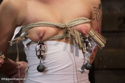 Photo number 3 from New Submissive Slut: Dahlia Sky shot for Whipped Ass on Kink.com. Featuring Maitresse Madeline Marlowe  and Dahlia Sky in hardcore BDSM & Fetish porn.
