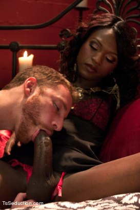 Photo number 5 from Transsexual Seductress Chanel Couture, her MASSIVE COCK and Her Slave shot for TS Seduction on Kink.com. Featuring Chanel Couture and Sebastian Keys in hardcore BDSM & Fetish porn.