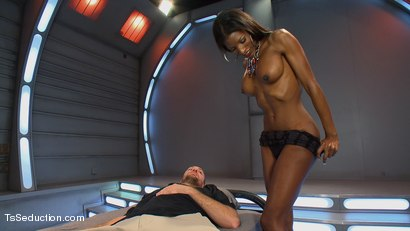 Photo number 3 from Take What you Get And Take More  shot for TS Seduction on Kink.com. Featuring Natassia Dreams and Rocky in hardcore BDSM & Fetish porn.