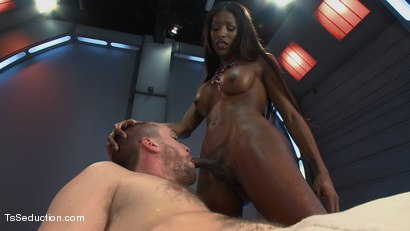 Photo number 6 from Take What you Get And Take More  shot for TS Seduction on Kink.com. Featuring Natassia Dreams and Rocky in hardcore BDSM & Fetish porn.