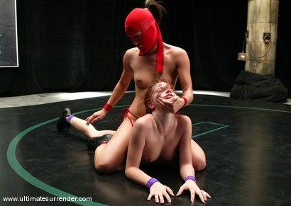 Photo number 11 from Ninja (6-0) vs Sarah Blake (0-0) shot for Ultimate Surrender on Kink.com. Featuring Sarah Blake and Crimson Ninja in hardcore BDSM & Fetish porn.