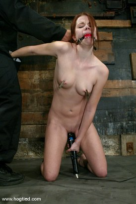 Photo number 3 from Sarah Blake shot for Hogtied on Kink.com. Featuring Sarah Blake in hardcore BDSM & Fetish porn.
