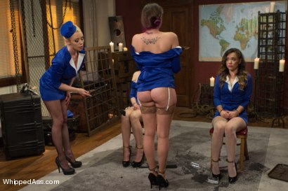 Photo number 14 from Sky High Lesbian Punishment shot for Whipped Ass on Kink.com. Featuring Lorelei Lee, Kristina Rose, Mallory Mallone and Missy Minks in hardcore BDSM & Fetish porn.