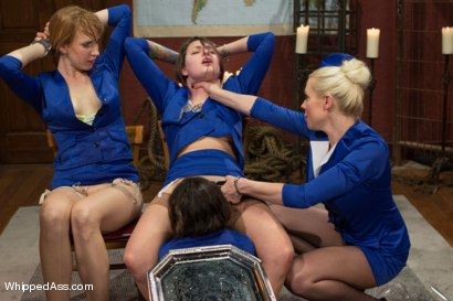 Photo number 4 from Sky High Lesbian Punishment shot for Whipped Ass on Kink.com. Featuring Lorelei Lee, Kristina Rose, Mallory Mallone and Missy Minks in hardcore BDSM & Fetish porn.