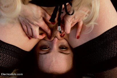 Photo number 13 from Bella Rossi: Electro Fuck Toy shot for Electro Sluts on Kink.com. Featuring Ashley Fires and Bella Rossi in hardcore BDSM & Fetish porn.