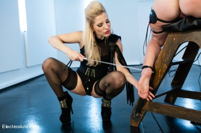 Photo number 4 from Bella Rossi is Back for More Electrosex! shot for Electro Sluts on Kink.com. Featuring Ashley Fires and Bella Rossi in hardcore BDSM & Fetish porn.