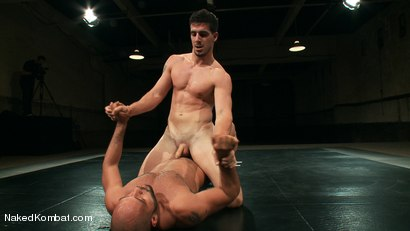 Photo number 6 from Mini Tournament NK Style - Tag Team  shot for Naked Kombat on Kink.com. Featuring Leo Forte, Blake Daniels, Tanner Wayne and Tyler Alexander in hardcore BDSM & Fetish porn.