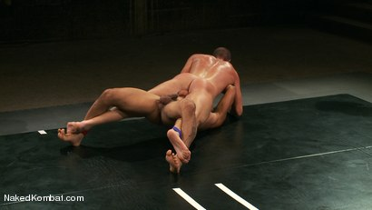 Photo number 7 from Mini Tournament NK Style - Tag Team  shot for Naked Kombat on Kink.com. Featuring Leo Forte, Blake Daniels, Tanner Wayne and Tyler Alexander in hardcore BDSM & Fetish porn.