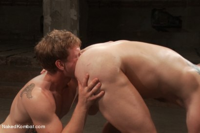 Photo number 12 from Trent Diesel vs Colby Jansen <br> Trent Diesel Last Porn Shoot Ever! shot for Naked Kombat on Kink.com. Featuring Trent Diesel and Colby Jansen in hardcore BDSM & Fetish porn.