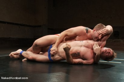 Photo number 4 from Trent Diesel vs Colby Jansen <br> Trent Diesel Last Porn Shoot Ever! shot for Naked Kombat on Kink.com. Featuring Trent Diesel and Colby Jansen in hardcore BDSM & Fetish porn.