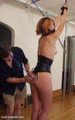 Photo number 3 from Ivy shot for Hogtied on Kink.com. Featuring Ivy in hardcore BDSM & Fetish porn.