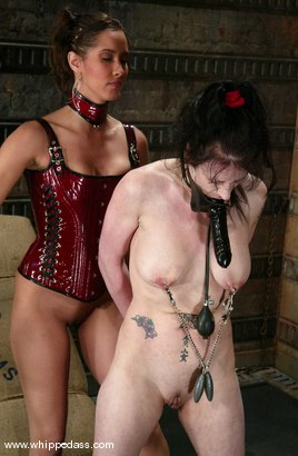 Photo number 9 from Isis Love and Moxxie Maddron shot for Whipped Ass on Kink.com. Featuring Moxxie Maddron and Isis Love in hardcore BDSM & Fetish porn.