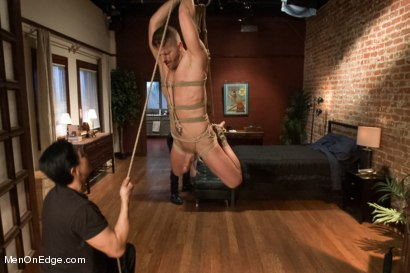 Photo number 11 from Jeremy Stevens and The Perverted Underwear Thieves - Part One shot for Men On Edge on Kink.com. Featuring Jeremy Stevens and Sebastian Keys in hardcore BDSM & Fetish porn.