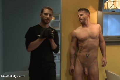 Photo number 1 from Jeremy Stevens and The Perverted Underwear Thieves - Part Two  shot for Men On Edge on Kink.com. Featuring Jeremy Stevens and Sebastian Keys in hardcore BDSM & Fetish porn.