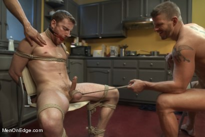 Photo number 6 from Jeremy Stevens and The Perverted Underwear Thieves - Part Two  shot for Men On Edge on Kink.com. Featuring Jeremy Stevens and Sebastian Keys in hardcore BDSM & Fetish porn.