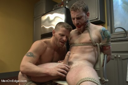 Photo number 5 from Jeremy Stevens and The Perverted Underwear Thieves - Part Two  shot for Men On Edge on Kink.com. Featuring Jeremy Stevens and Sebastian Keys in hardcore BDSM & Fetish porn.
