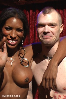 Photo number 15 from No Touching the Dancer Unless You want Your Ass FUCKED by HER COCK shot for TS Seduction on Kink.com. Featuring Natassia Dreams and Mike Panic in hardcore BDSM & Fetish porn.