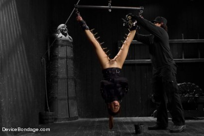 Photo number 14 from Kristina Rose Captured and fucked in extreme bondage positions shot for Device Bondage on Kink.com. Featuring Kristina Rose and Orlando in hardcore BDSM & Fetish porn.