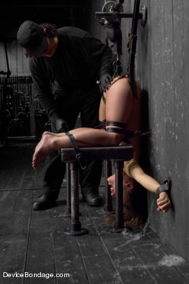 Photo number 4 from Kristina Rose Captured and fucked in extreme bondage positions shot for Device Bondage on Kink.com. Featuring Kristina Rose and Orlando in hardcore BDSM & Fetish porn.