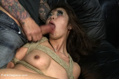 Photo number 14 from Favorite in Japan- Marica Hase comes to USA to get FUCKED in PUBLIC for the FIRST TIME!!!! shot for Public Disgrace on Kink.com. Featuring Marica Hase and Astral Dust in hardcore BDSM & Fetish porn.