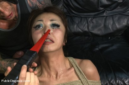 Photo number 15 from Favorite in Japan- Marica Hase comes to USA to get FUCKED in PUBLIC for the FIRST TIME!!!! shot for Public Disgrace on Kink.com. Featuring Marica Hase and Astral Dust in hardcore BDSM & Fetish porn.