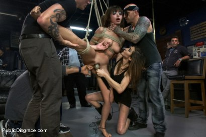 Photo number 10 from Favorite in Japan- Marica Hase comes to USA to get FUCKED in PUBLIC for the FIRST TIME!!!! shot for Public Disgrace on Kink.com. Featuring Marica Hase and Astral Dust in hardcore BDSM & Fetish porn.