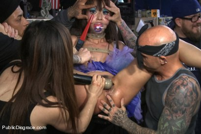 Photo number 3 from Favorite in Japan- Marica Hase comes to USA to get FUCKED in PUBLIC for the FIRST TIME!!!! shot for Public Disgrace on Kink.com. Featuring Marica Hase and Astral Dust in hardcore BDSM & Fetish porn.