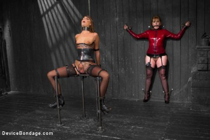 Photo number 3 from No Holds - Cassandra Nix shot for Device Bondage on Kink.com. Featuring Cassandra Nix, Mz Berlin and Asa Archer in hardcore BDSM & Fetish porn.