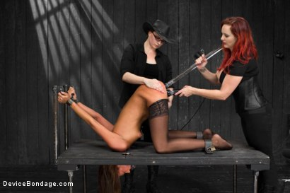 Photo number 7 from No Holds - Cassandra Nix shot for Device Bondage on Kink.com. Featuring Cassandra Nix, Mz Berlin and Asa Archer in hardcore BDSM & Fetish porn.