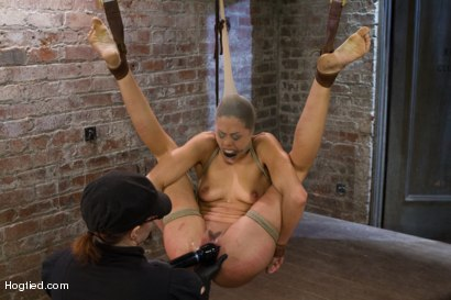 Photo number 15 from Lyla Storm - Complete Edited Live Show shot for Hogtied on Kink.com. Featuring Lyla Storm in hardcore BDSM & Fetish porn.