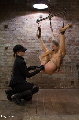 Photo number 12 from Lyla Storm - Complete Edited Live Show shot for Hogtied on Kink.com. Featuring Lyla Storm in hardcore BDSM & Fetish porn.