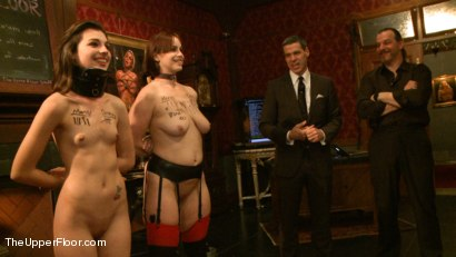 Photo number 14 from Rules, Protocols and Slave Games shot for The Upper Floor on Kink.com. Featuring Bella Rossi and Kristine Kahill in hardcore BDSM & Fetish porn.