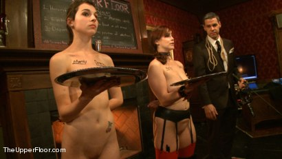 Photo number 5 from Rules, Protocols and Slave Games shot for The Upper Floor on Kink.com. Featuring Bella Rossi and Kristine Kahill in hardcore BDSM & Fetish porn.