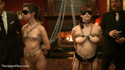 Photo number 1 from Rules, Protocols and Slave Games shot for The Upper Floor on Kink.com. Featuring Bella Rossi and Kristine Kahill in hardcore BDSM & Fetish porn.