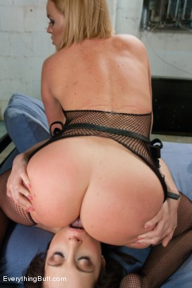 Photo number 11 from Anal Sluts: Nikita Bellucci and Natasha Starr shot for Everything Butt on Kink.com. Featuring Krissy Lynn, Nikita Bellucci and Natasha Starr in hardcore BDSM & Fetish porn.