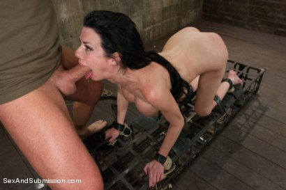Photo number 8 from The Lonely Housewife shot for Sex And Submission on Kink.com. Featuring Mark Davis and Veronica Avluv in hardcore BDSM & Fetish porn.